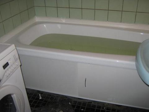 вставка в ванну фото