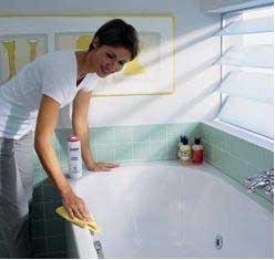 как часто мыть акриловую вставку в ванну