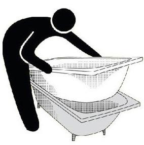 акриловая ванна-вкладыш