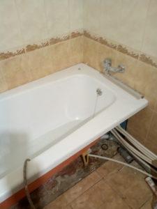 после обновления старой ванны